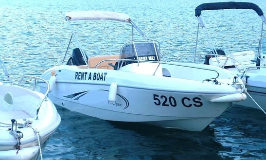 Deck Boat Rental In Cres