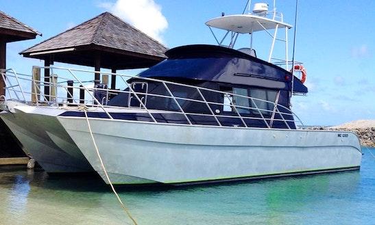 Enjoy Fishing In Apia Marina, Samoa With Captain Jonathan
