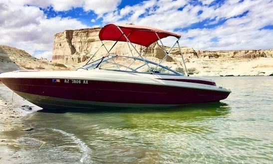 Enjoy Lake Powell In This 19' Maxum Bowrider