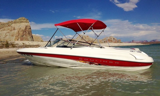 Enjoy Lake Powell In This 20.5' Bayliner Capri Bowrider