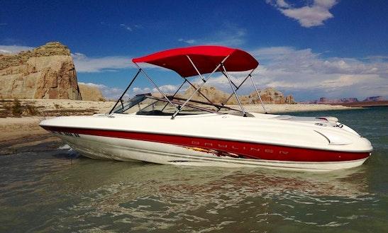 Enjoy Lake Powell In This 20.5' Bayliner Capri Bowrider