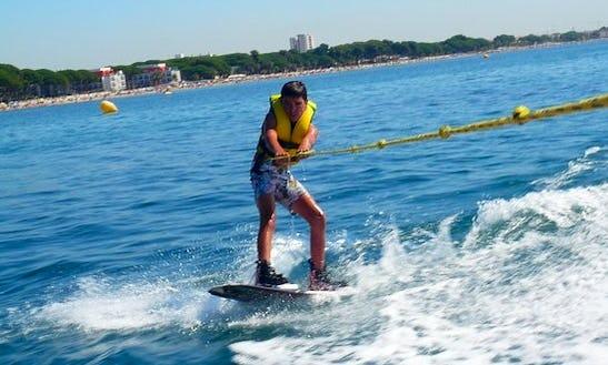 Enjoy Wakeboarding In Blanes, Spain