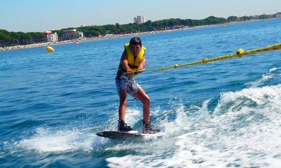 Fun Wakeboarding Adventure in Blanes, Spain