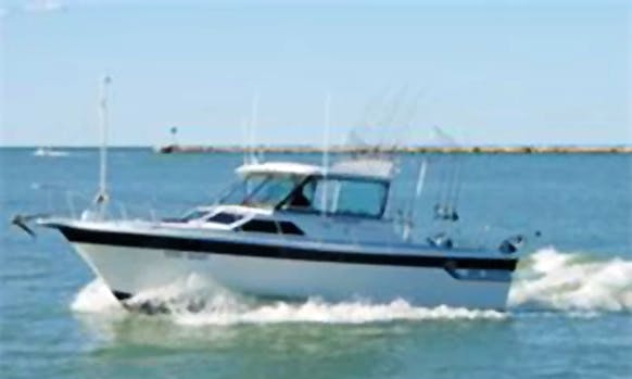 Enjoy Fishing in L'Ametlla de Mar, Spain on 26' Cuddy Cabin