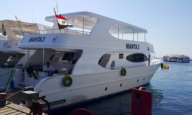Charter Manta 3 Motor Yacht in Red Sea Governorate, Egypt