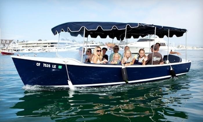 Electric Boat Rental Captained Boat Tour In Newport Beach