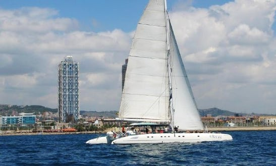 Cruising Catamaran For 80 People In Barcelona, Spain