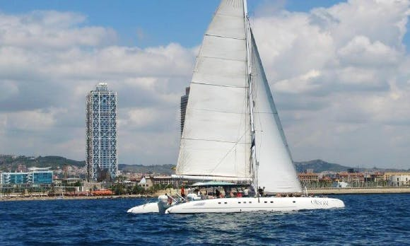 Cruising Catamaran for 80 People in Barcelona, Spain