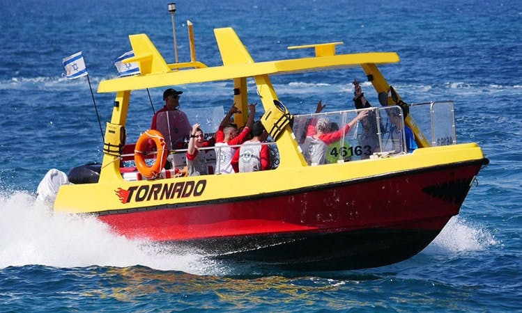 "The fastest ""Tornado"" Boat In Israel"