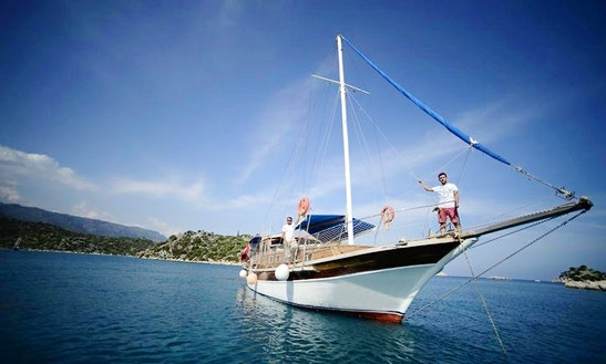 Charter A Gorgeous Gulet And Explore Antalya, Turkey