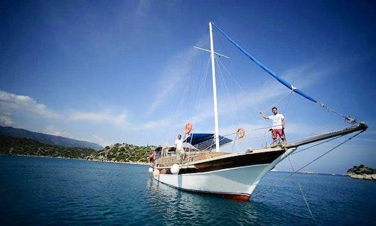 Charter A Gulet In Antalya, Turkey