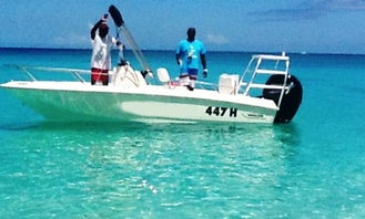 Boston Whaler Center Console Boat Charter In Barbados