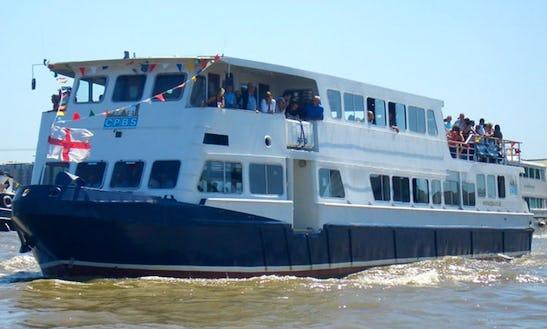 Luxury Passenger Boat Rental In London, England