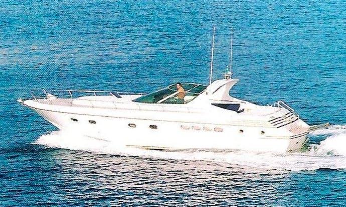 Charter 46' Carima Motor Yacht in Napoli, Italy