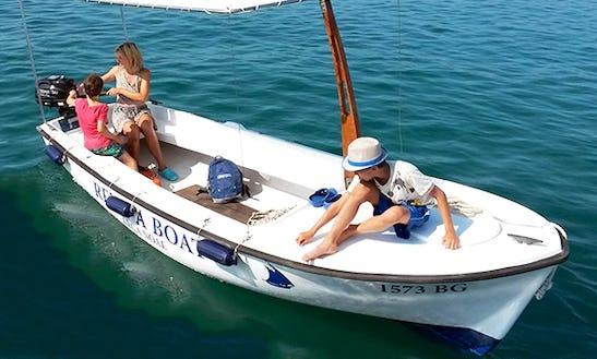 Rent 16' Elan Pasara Open Dinghy In Turanj, Croatia