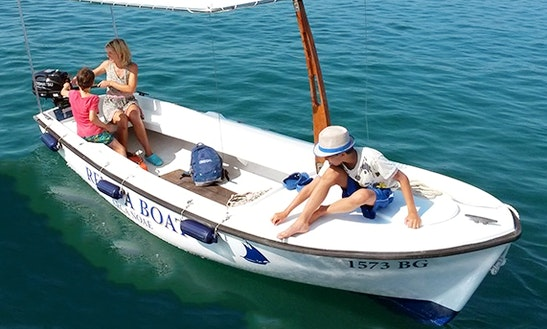 Rent 16' Elan Pasara Open Dinghy In Turanj, Croatia