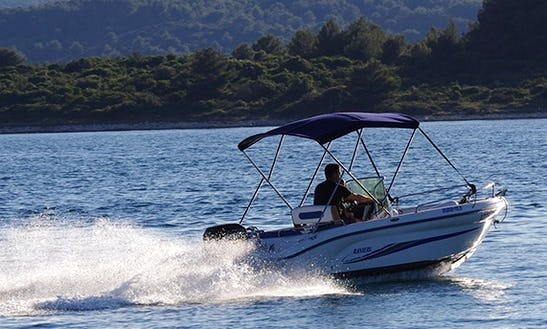 Rent 16' Ranieri Azzura Center Console In Turanj, Croatia