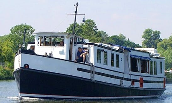 Passenger Boat For 46 Passengers With A Friendly Skipper!