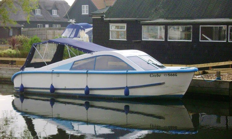 Norfolk Broads Day Boats for Hire