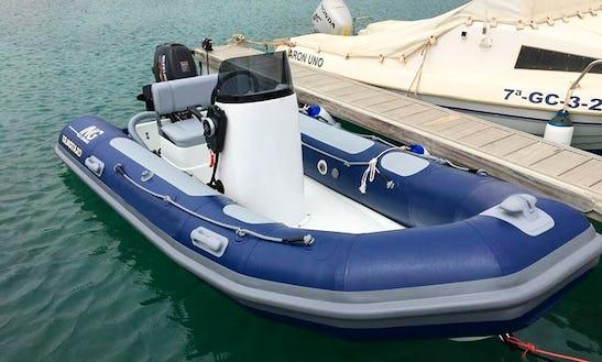 Rent A Rigid Inflatable Boat In Caleta De Sebo, Spain