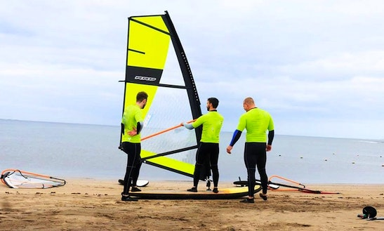 Windsurfing Lesson In Mogán, Spain