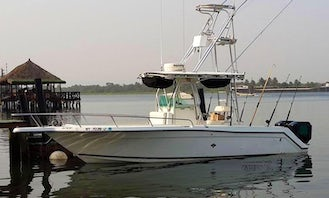 Enjoy Fishing in Accra, Ghana on Hooker lll Center Console