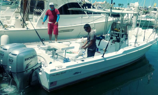 Enjoy Fishing In Cabo San Lucas, Mexico On 6 Persons Center Console