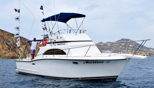 Amazing Marisol Ii Sport Fisherman Fishing Charter In Cabo San Lucas, Mexico