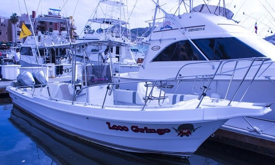 Enjoy Fishing On 26' Super Panga - Loco Gringo Center Console In Cabo San Lucas, Mexico