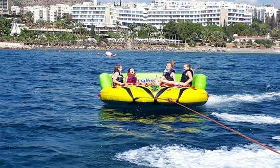 Tubing Fun In Limassol, Cyprus