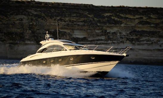 50' Sunseeker Camargue Motor Yacht Charter In Il-gżira, Malta