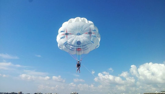 See The Sites Of Limassol While Parasailing