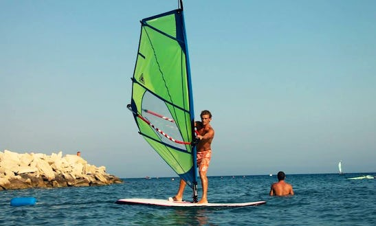 Windsurfing At It's Finest In Limassol, Cyprus