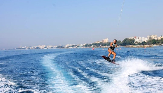 Get Some Air Wakeboarding In Limassol, Cyprus