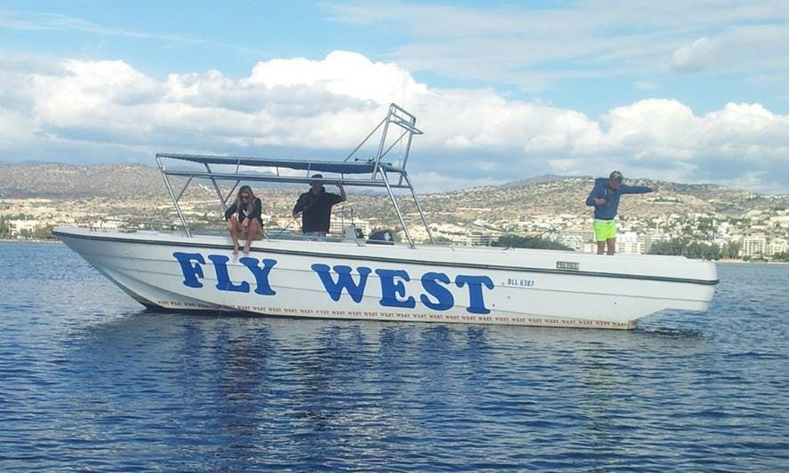 Bowrider For Charter in Limassol - fish, swim or cruise!