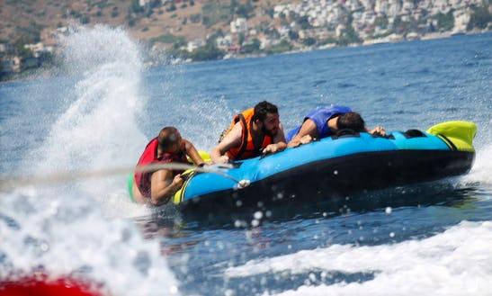 Tubing At Dona Beach Muğla, Turkey
