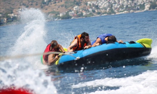Tubing At Dona Beach Muğla, Turkey