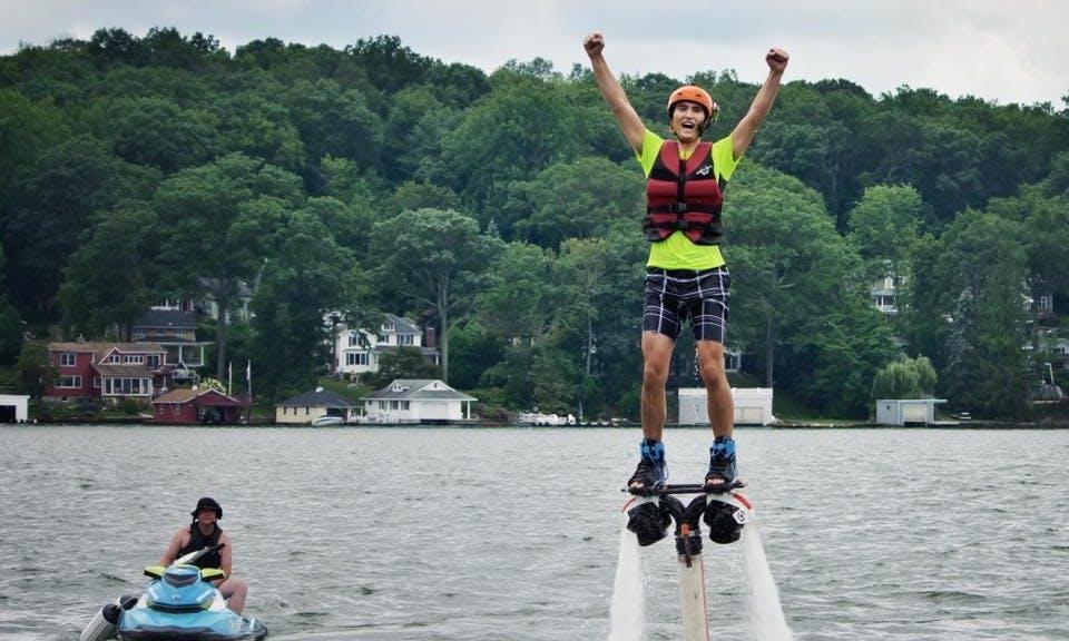 Flyboarding Lesson In Jefferson, New Jersey