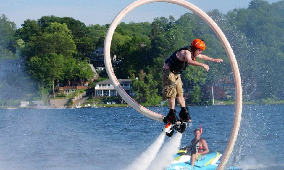 Flyboarding Lesson In Jefferson, New Jersey