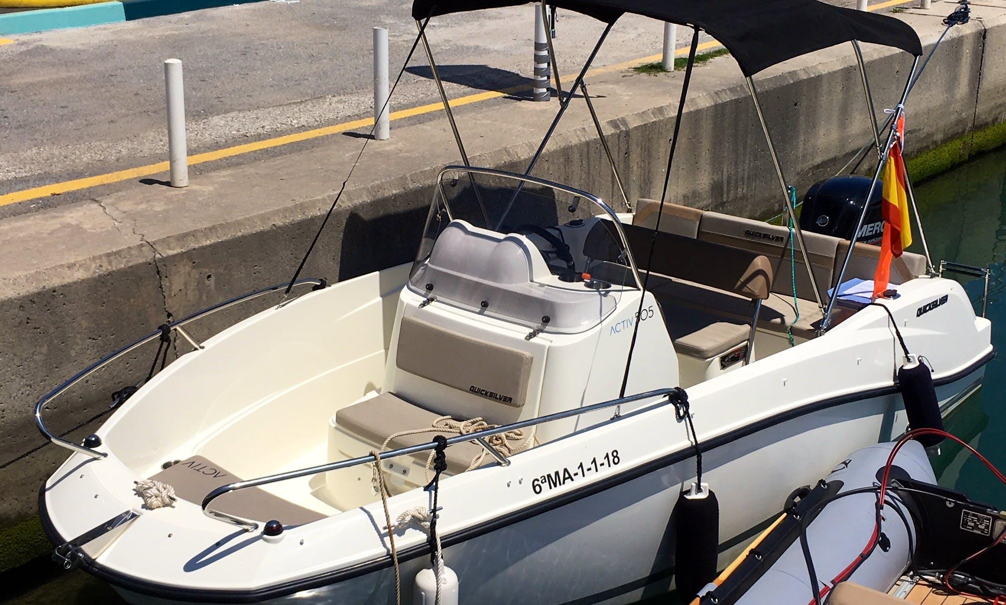 Deck Boat rental in Benalmádena