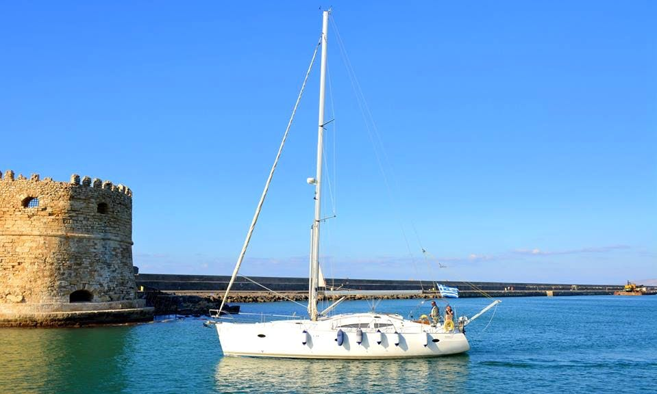 Charter this pristine S ELAN impression 434 in Vlichada for up to 10 people