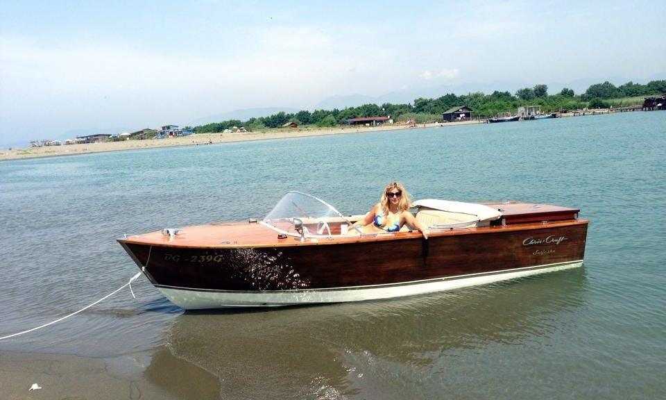 Deck Boat rental in Beograd