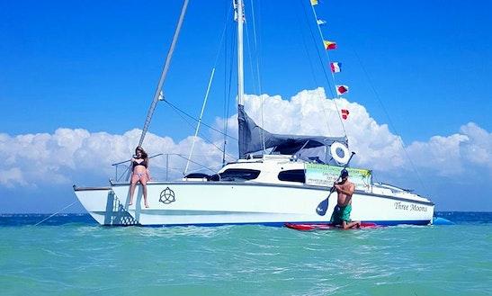 Sailing Charter On 32' Cruising Catamaran In Palm Harbor, Florida