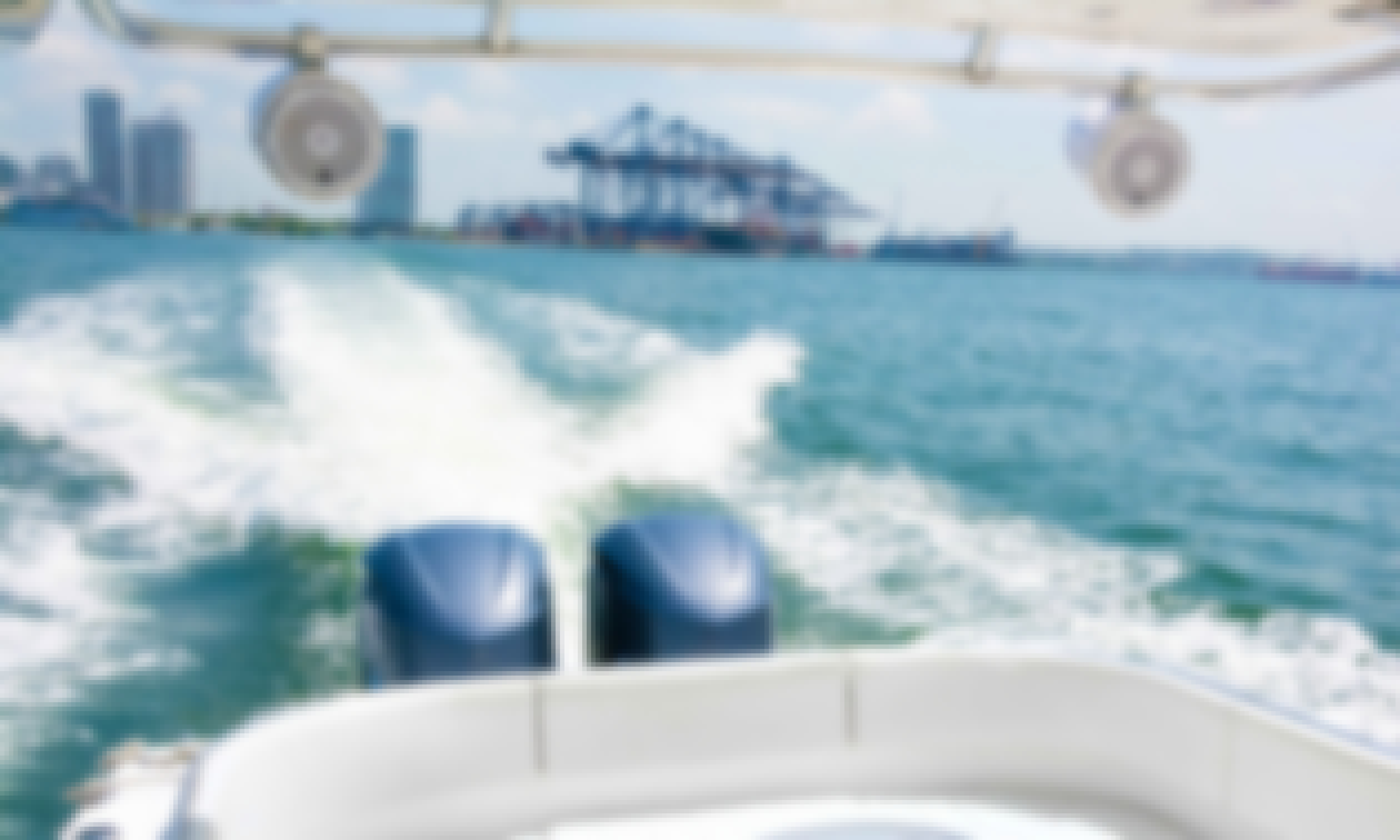 Rent this 41' Center Console in Cartagena, Colombia with Great Seating and Booming Sound System