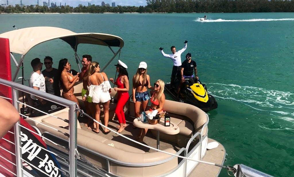 Rent a Pontoon in Miami Beach, Florida