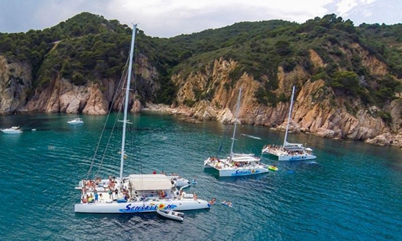 Cruising Catamaran for 80, 97 and 125 Guests in Barcelona, Spain
