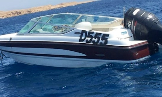 Enjoy Red Sea Governorate, Egypt On A Bowrider For Up To 6 Person