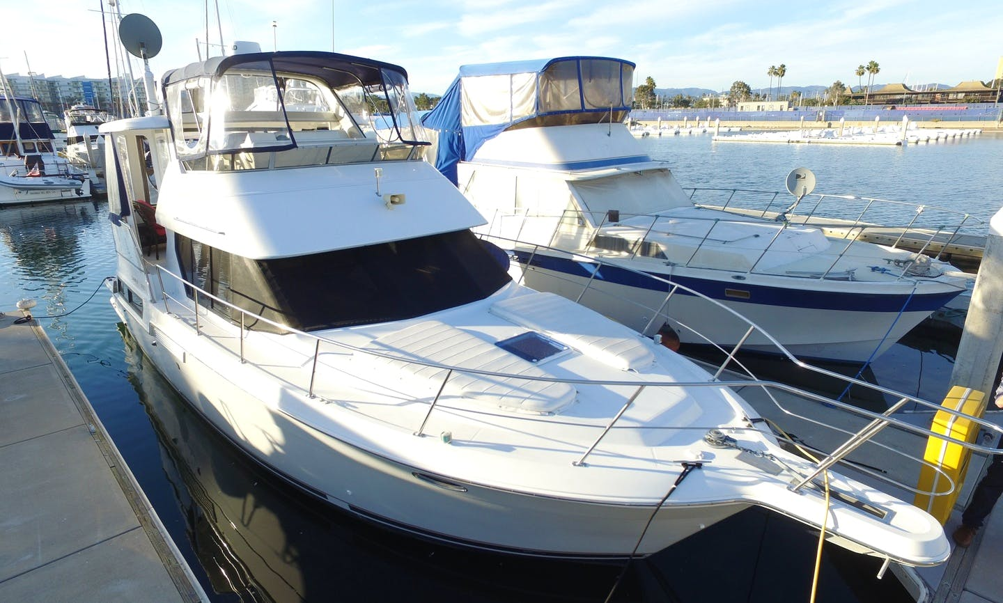 43' Motor Yacht Rental In Marina del Rey, California for up to 12 person