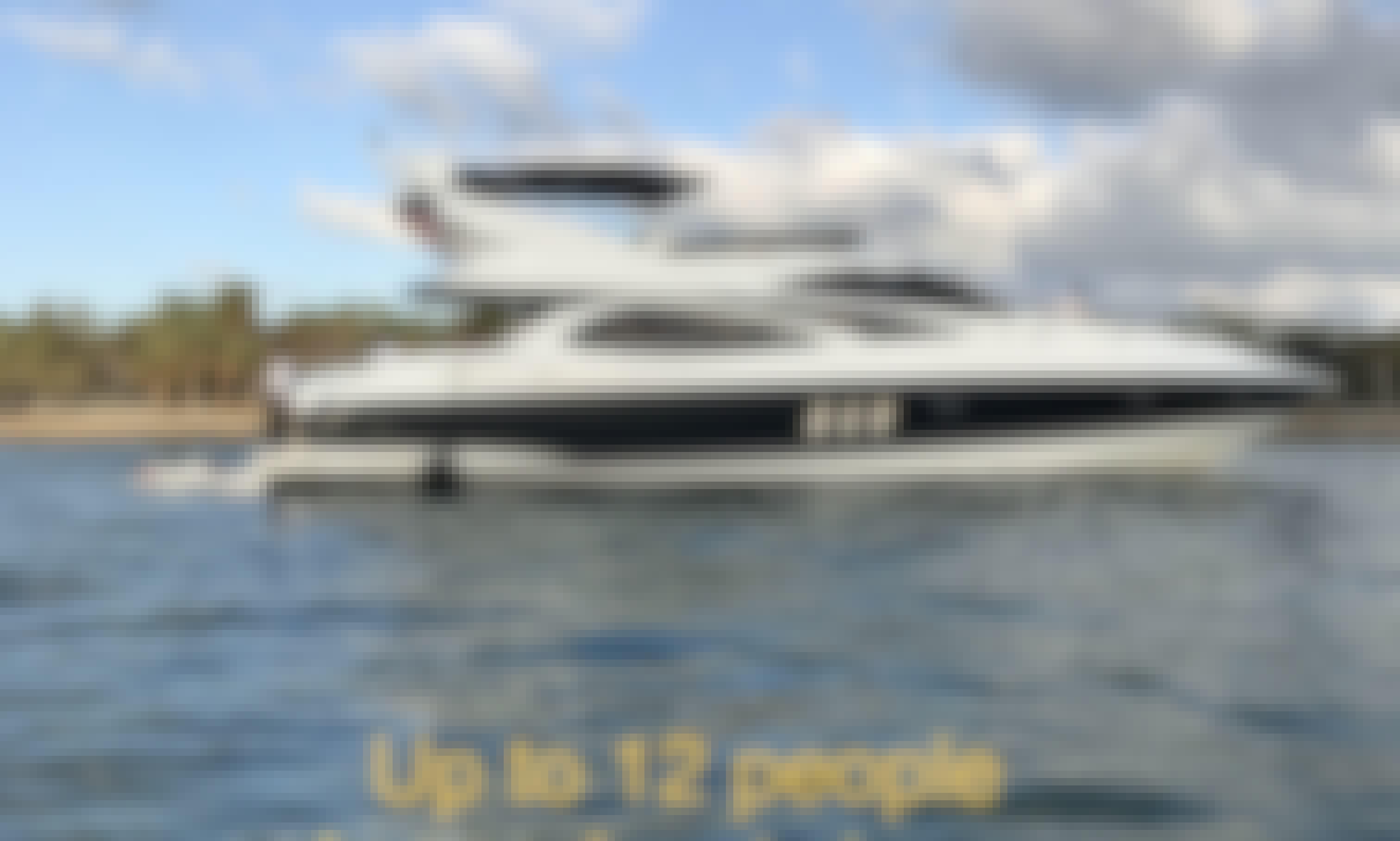 2004 70' Sunseeker Manhattan Power Mega Yacht Charter in Miami Beach, Florida