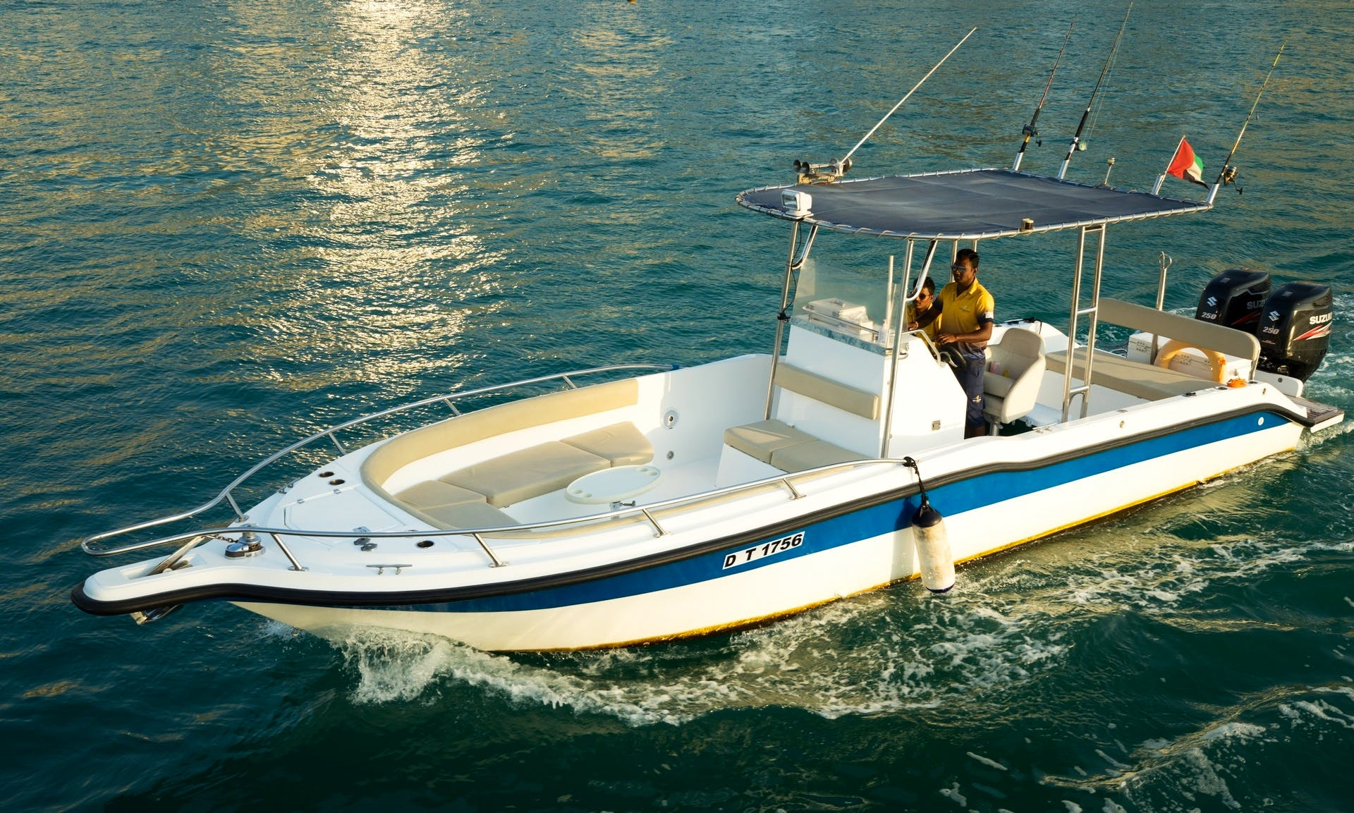 "Charter 40ft ""Sea Master 3"" Center Console Rental In Dubai, UAE"